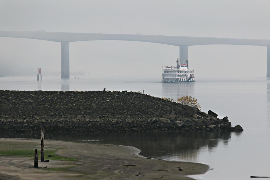 Paddle in Fog